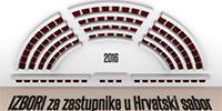 Službeni rezultati izbora za zastupnike u Hrvatskom saboru