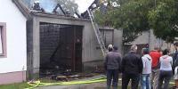 U požaru izgorjela obiteljska kuća u Lužanima