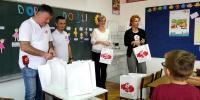 Zamjenica načelnika posjetila prvašiće Osnovne škole
