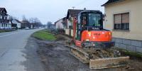 Započela izgradnja nogostupa u selu Malino